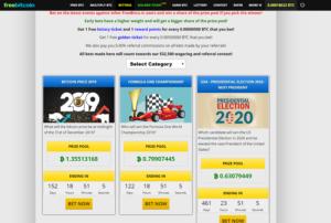 free bitcoin betting